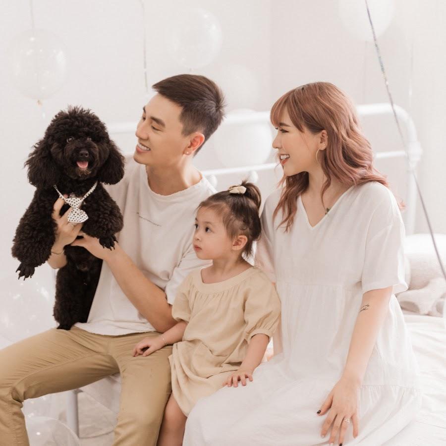 Ảnh gia đình nhỏ hạnh phúc