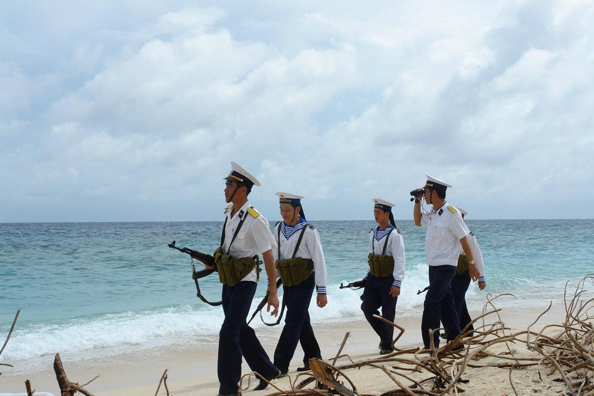 Hình ảnh người lính hải quân