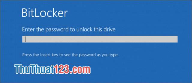 Đăng nhập vào BitLocker