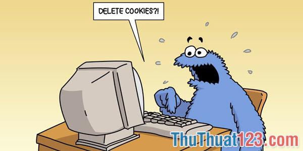 Xóa Cookie trên trình duyệt