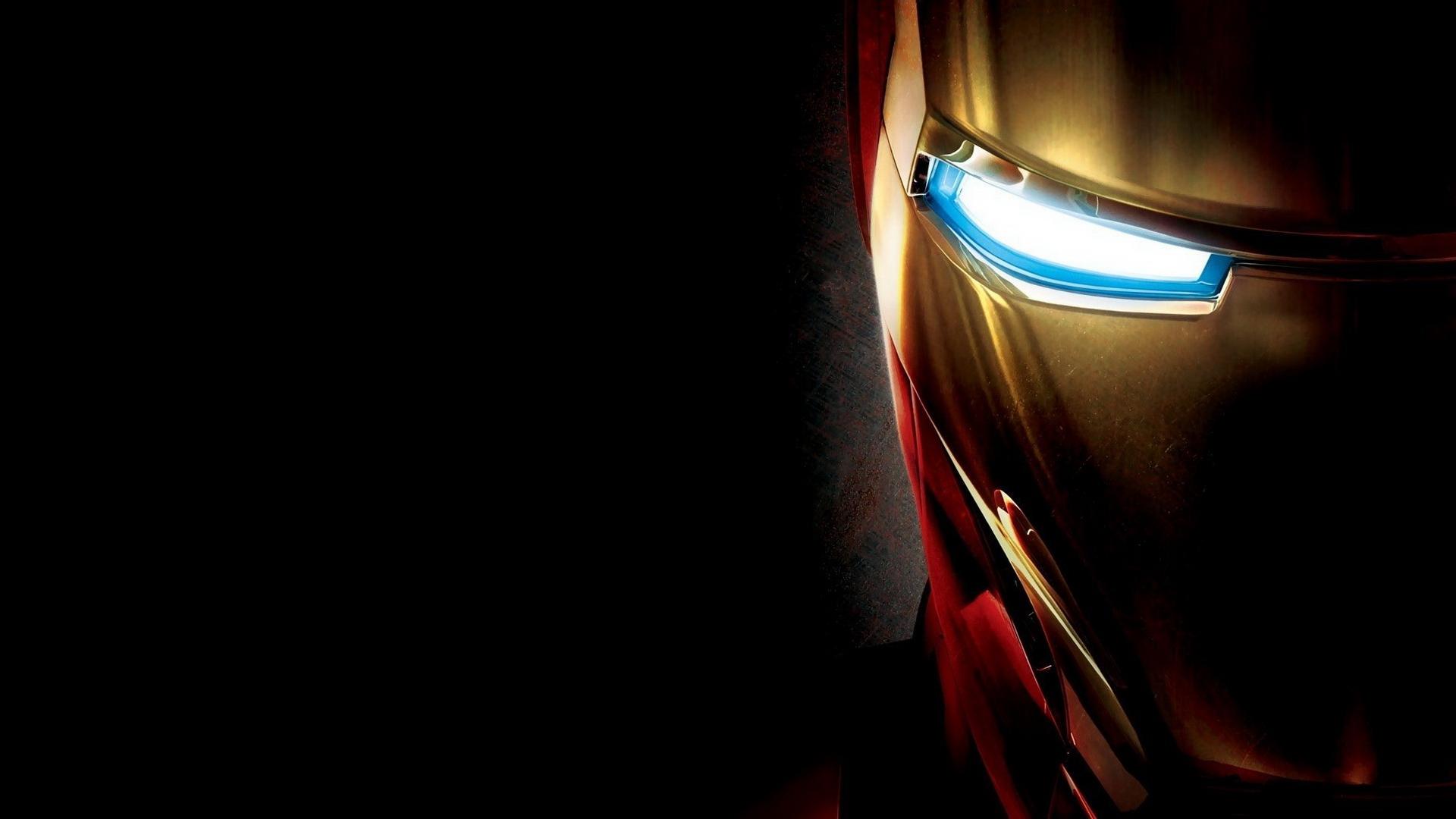 Hình nền Iron man đen