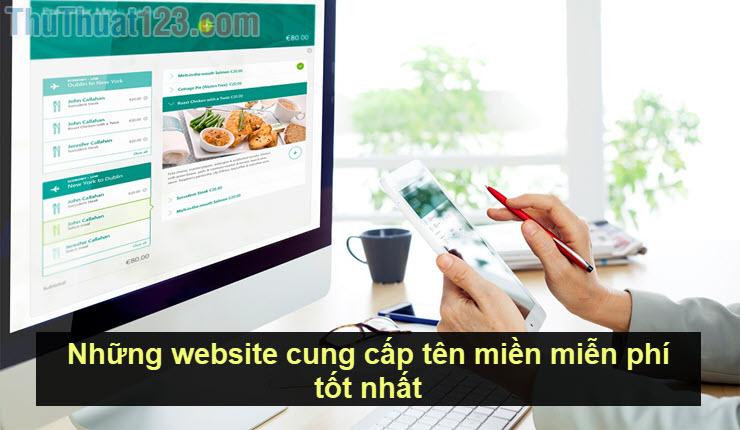 Những website cung cấp tên miền miễn phí tốt nhất