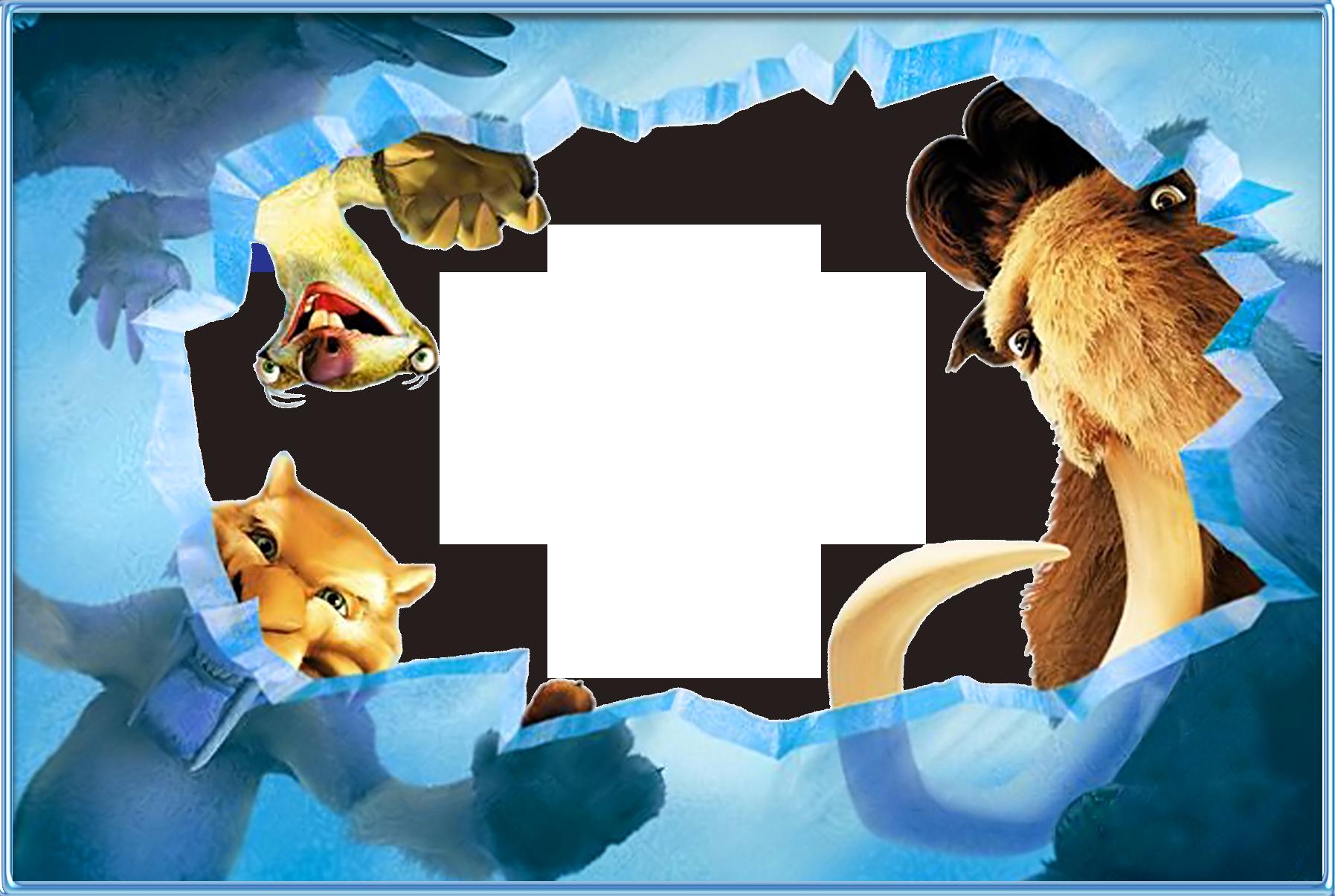 Mẫu khung ảnh hoạt hình cho Photoshop
