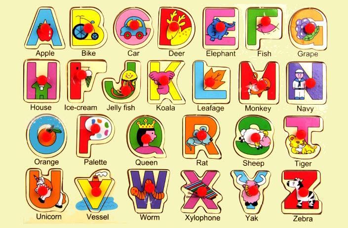 Bảng chữ cái tiếng Anh đẹp nhất