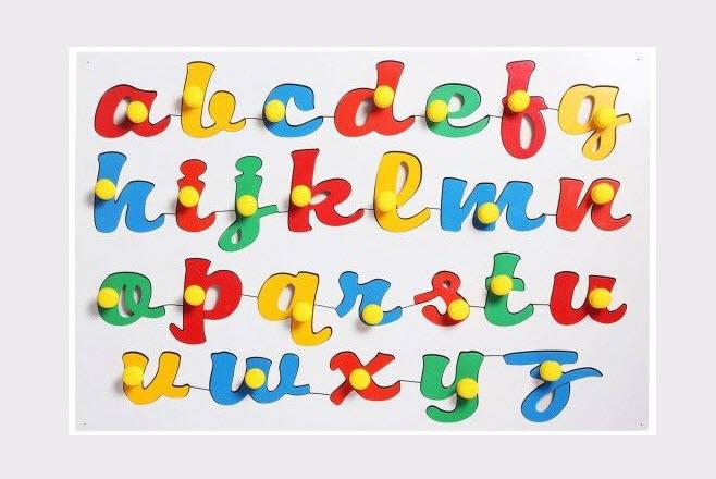 Bảng chữ cái tiếng Anh đẹp