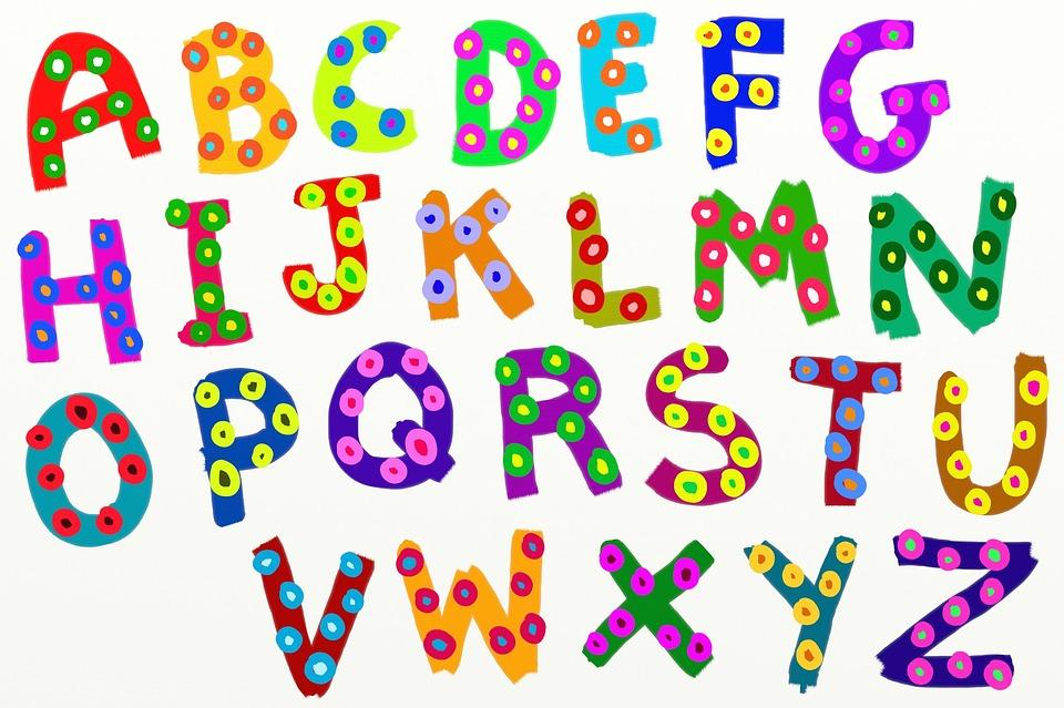 Bảng mẫu chữ cái tiếng Anh