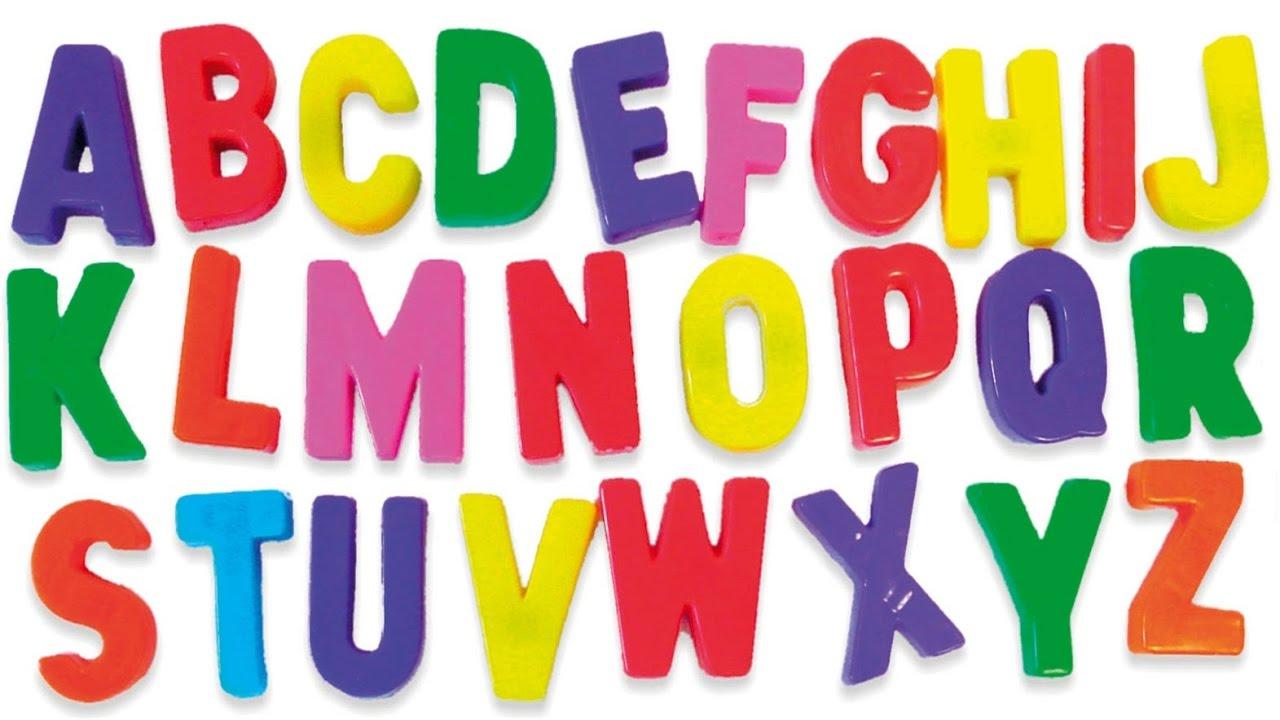 Mẫu bảng chữ cái cho trẻ mầm non