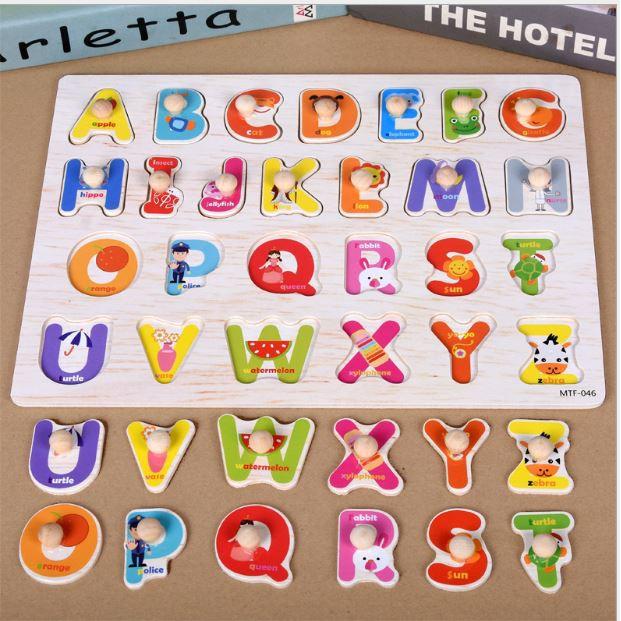 Mẫu bảng chữ cái cho trẻ mẫu giáo