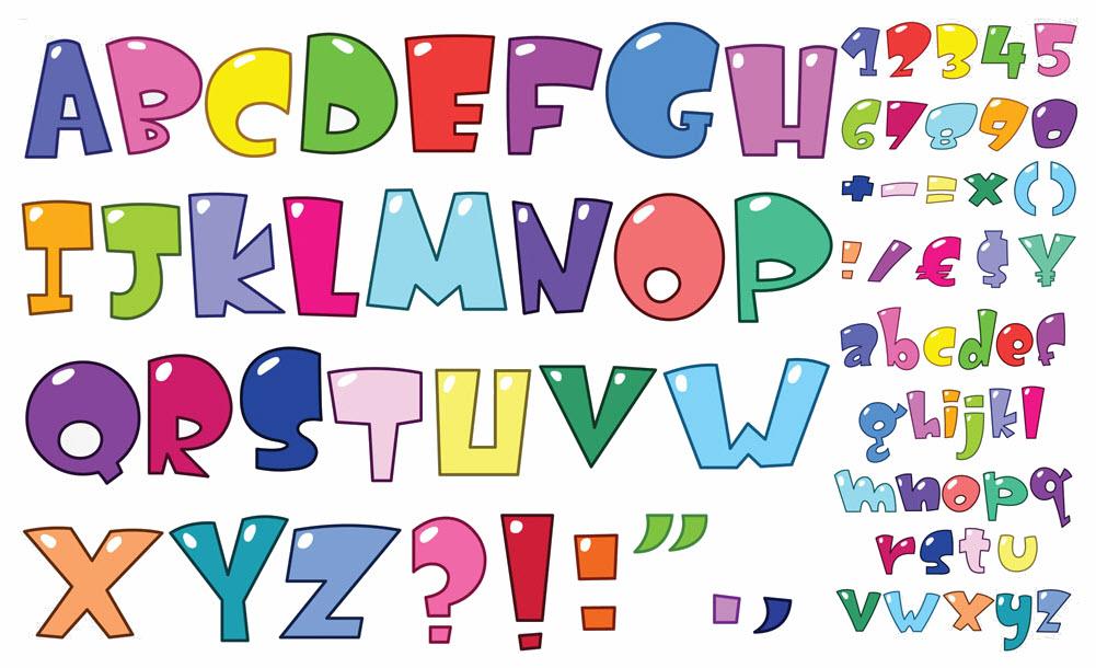 Mẫu bảng chữ cái tiếng Anh đầy đủ