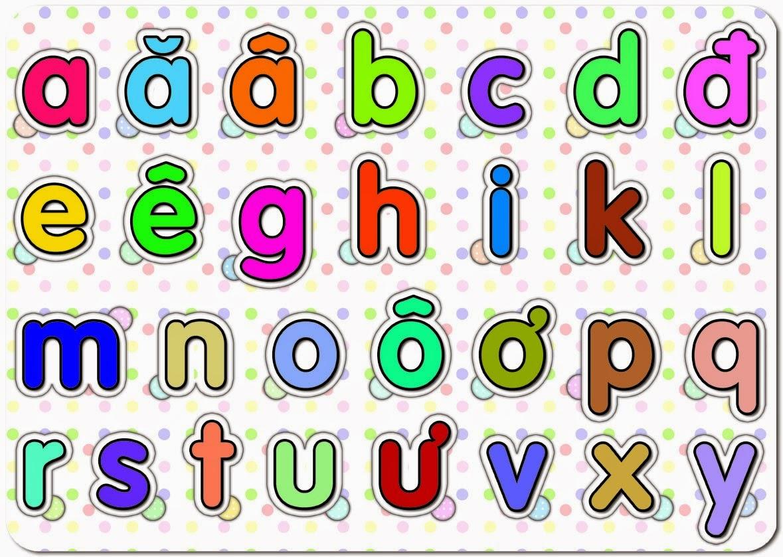 Mẫu bảng chữ cái